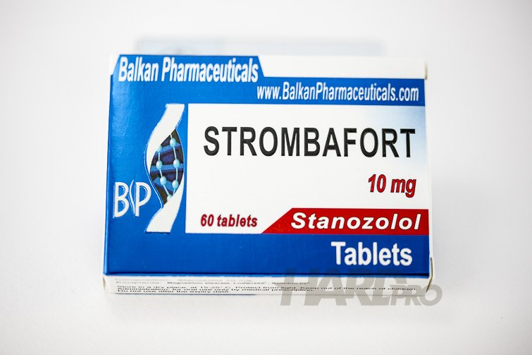Strombafort - Balkan Pharmaceuticals - Стромба,Станозолол ...