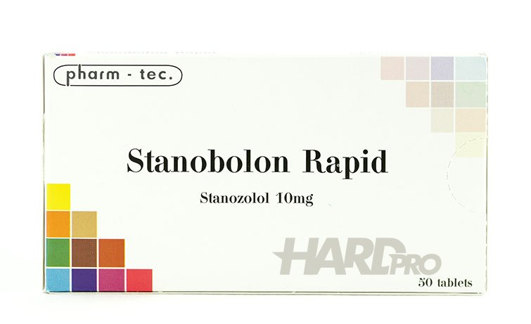 Stanobolon Rapid - pharm - tec. Станозолол