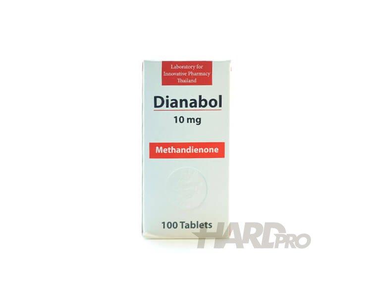 Dianabol - Lipthai (Methandienone, Methandrostenolone) - Hard Pro