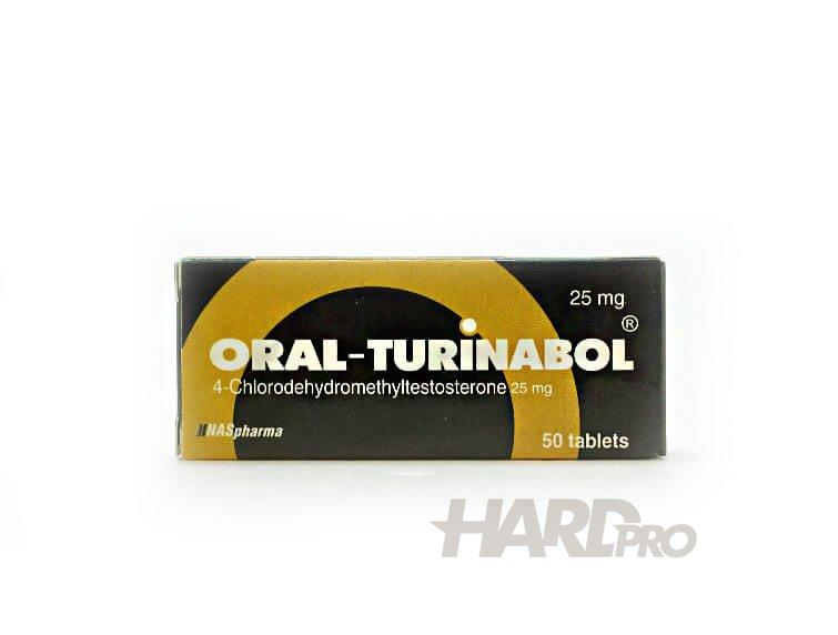 Oral Turinabol - NASpharma - 50х25мг Туринабол - Hard Pro