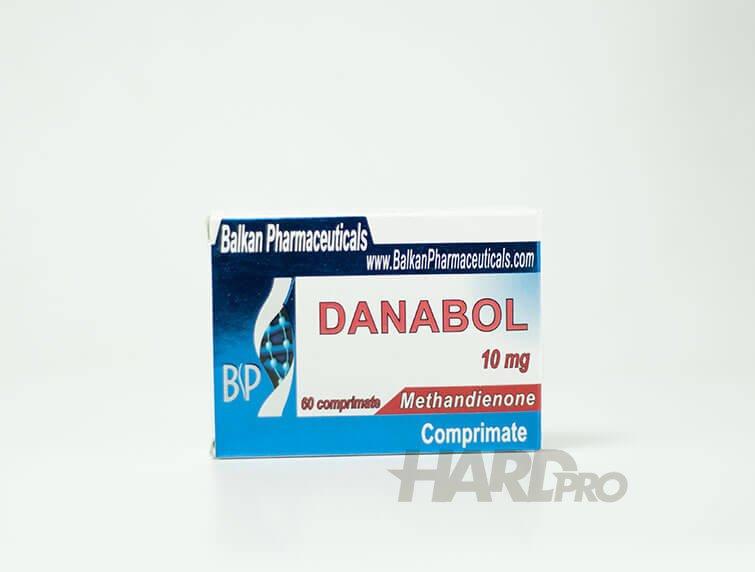 Danabol - Balkan Pharmaceuticals - (Methandrostenolone, Methandienone) - Hard Pro