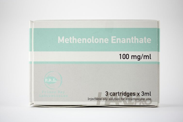 Methenolone Enanthate (PRL) - 3x3мл, 100мг Примоболан