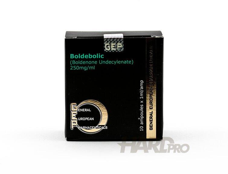 Boldebolic - GEP (10 ампули по 200мг/мл Boldenone Undecylenate) Болденон от hard-pro