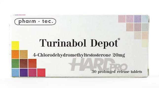 Turinabol Depot (pharm - tec.) 30x20mg