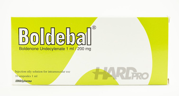 Boldebal 10 ампули - 200 mg/ml (NASpharma) Boldenone Undecylenate, Болденон от hard-pro