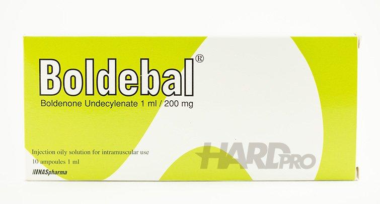 Boldebal 10 ампули - 200 mg/ml (NASpharma) Boldenone Undecylenate, Болденон от hard-pro