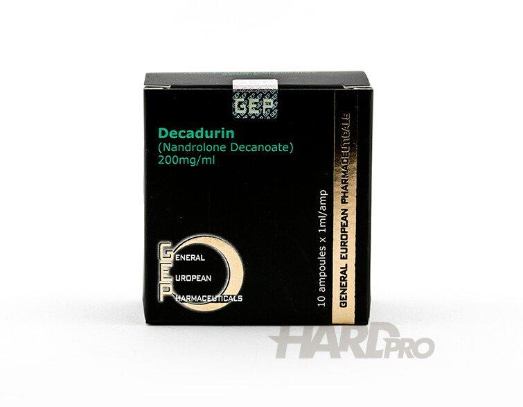 Decadurin - Нандролонов деканоат Nandrolone Decanoate, GEP от hard-pro