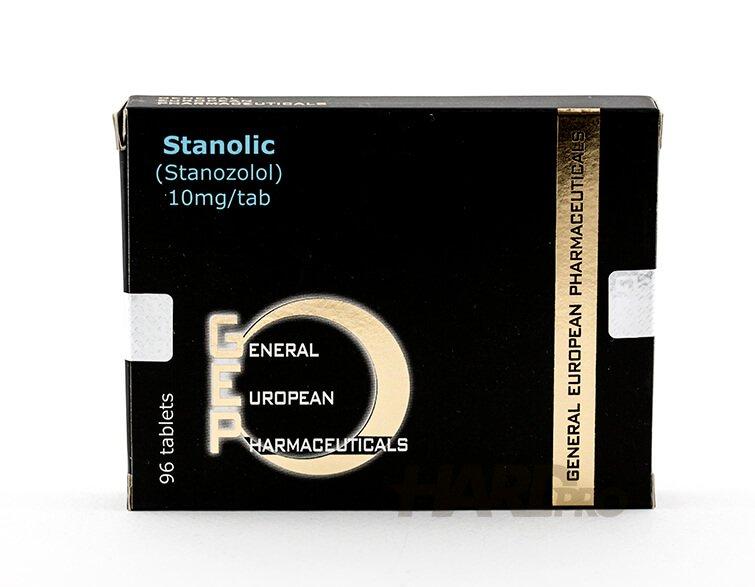 Stanolic - Stanozolol, Стромба таблетки (GEP)