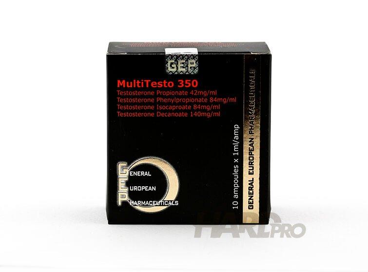 MultiTesto 350 - Сустанон микс от 4 тестостерона - (GEP) - Hard Pro