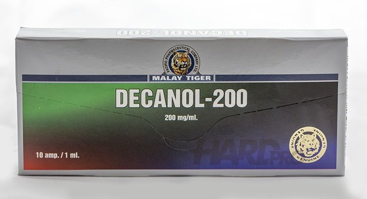 Decanol-200 (Malay Tiger) Nandrolone decanoate от hard-pro