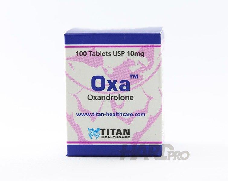 Oxa - Титан (Анавар, Oxandrolone), 100x10 mg