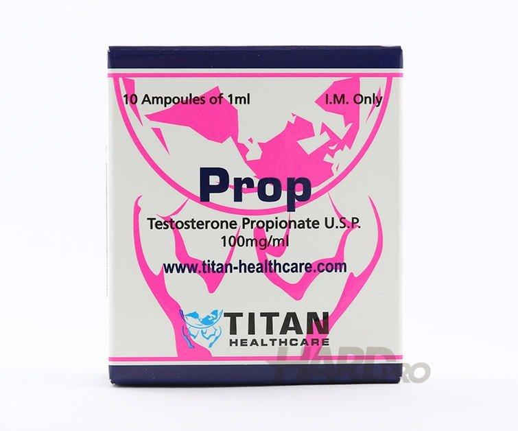 Prop (Testosterone Propionate U.S.P.) - Титан, 10 ампули