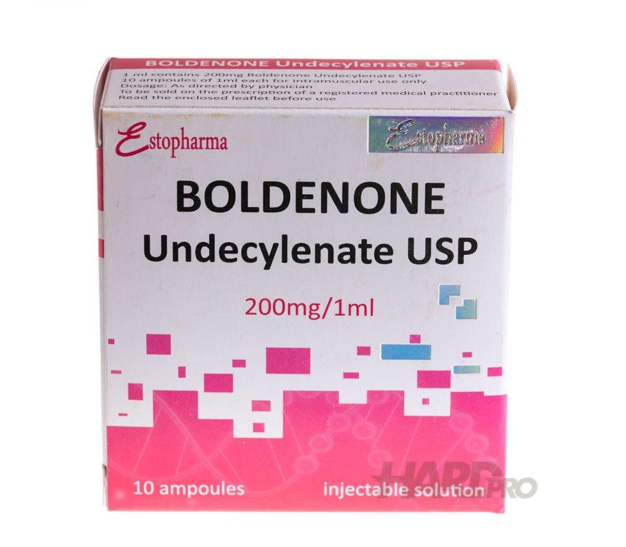 Болденон / Boldenone Undecylenate - Estopharma, 10 ампули / 250 мг/мл от hard-pro