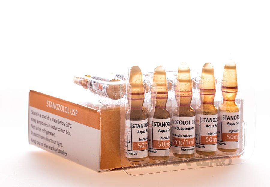 Stanozolol USP - ЕСТОФАРМА, 10 ампули/50мг