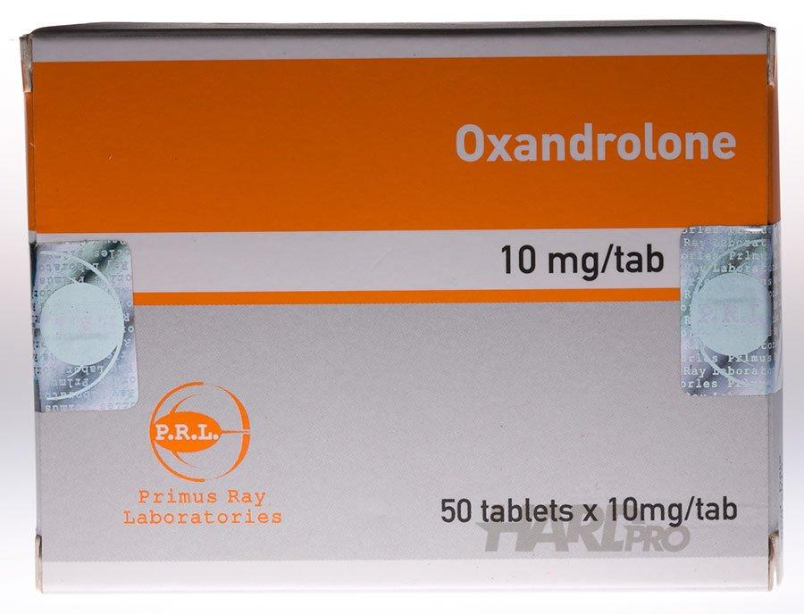 Oxandrolone (Анавар PRL) - 50x10 мг, hard-pro.com